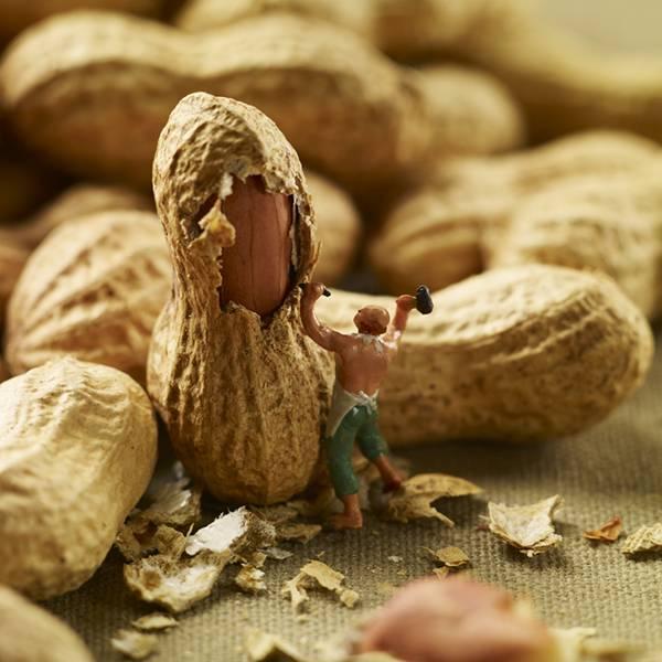 食べ物とミニチュアの人々の美味しい関係。遊び心にあふれた写真作品シリーズ - 06
