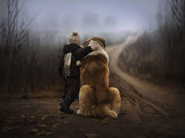 少年と様々な動物たちとのふれあいを切り取った写真作品 - 01