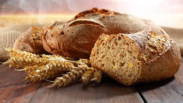 03.パンと小麦を撮影した綺麗な写真壁紙画像
