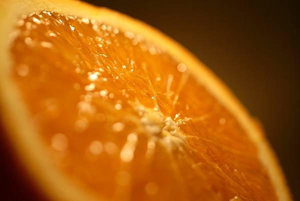 03.オレンジの断面をマクロ撮影した綺麗な写真壁紙画像
