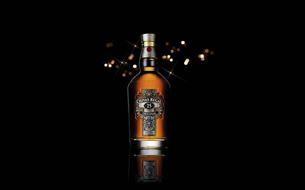 12.シーバスリーガルのボトルを撮影したカッコイイ写真壁紙画像