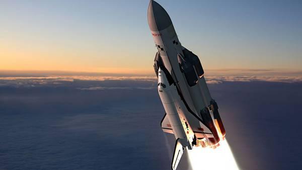 綺麗なスペースシャトル画像