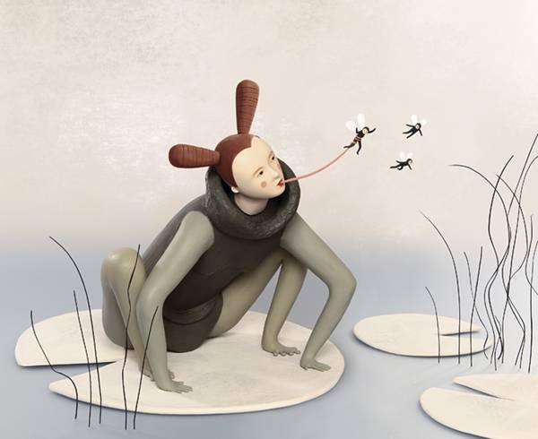 粘土で創るイラスト!?そこに流れる空気まで感じる「Clay Illustration」 - 08