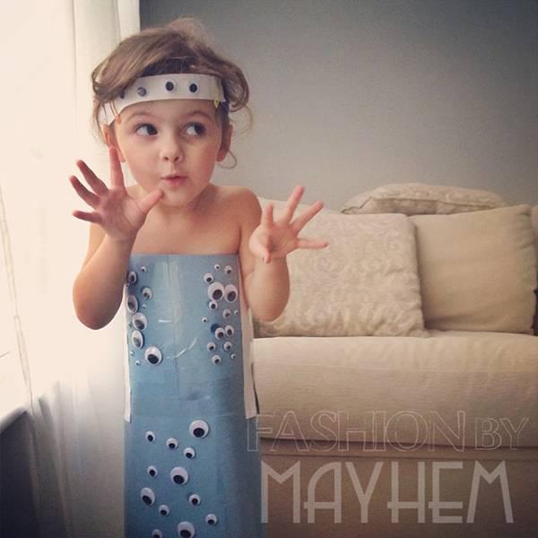 これは可愛い!Mayhem ちゃんの紙のドレスのファッションショー - 02