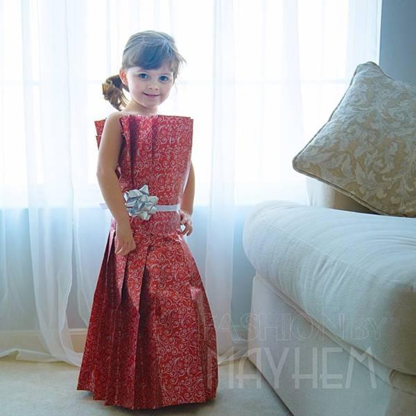 これは可愛い!Mayhem ちゃんの紙のドレスのファッションショー - 03
