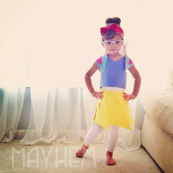これは可愛い!Mayhem ちゃんの紙のドレスのファッションショー - 05