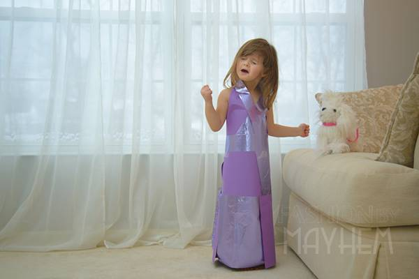 これは可愛い!Mayhem ちゃんの紙のドレスのファッションショー - 06