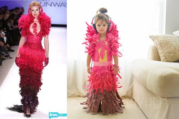 これは可愛い!Mayhem ちゃんの紙のドレスのファッションショー - 08