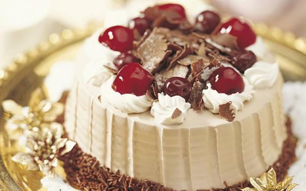 11.綺麗なケーキを浅い被写界深度で撮影したおしゃれな写真壁紙画像