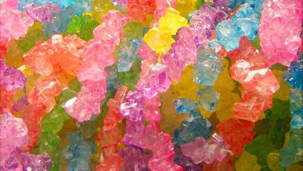 12.カラフルなキャンディーを撮影した綺麗な写真壁紙画像