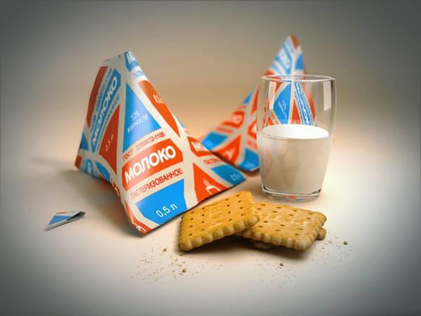 07.牛乳とクッキーの綺麗な写真壁紙画像