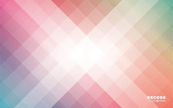 11.カラフルな色使いのスクエアデザインのデジタルアートワーク壁紙画像