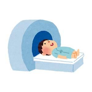 MRIのイラスト(健康診断)