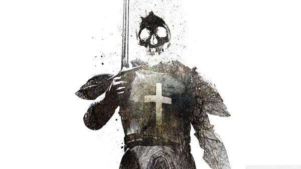 09.死神の兵士をデザインしたクールなイラスト壁紙画像