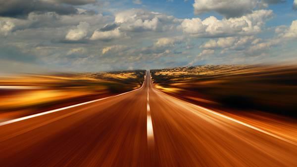 08.モーションブラーで流れる道を撮影したカッコイイ写真壁紙画像