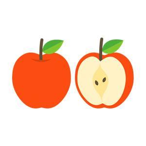 リンゴのイラスト素材