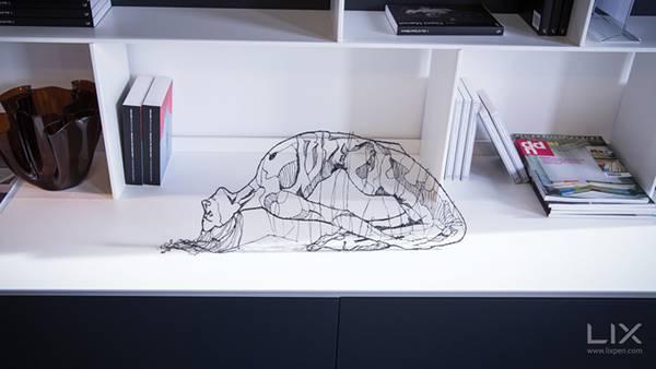 空間に直接描ける3Dペン「LIX」 - 01