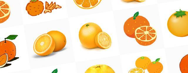無料イラスト素材 オレンジ みかんの画像まとめ カット 葉っぱ 断面 Switchbox