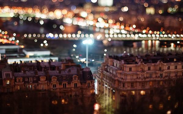 05.夜の街並みを玉ボケを活かして撮影した綺麗な写真壁紙画像