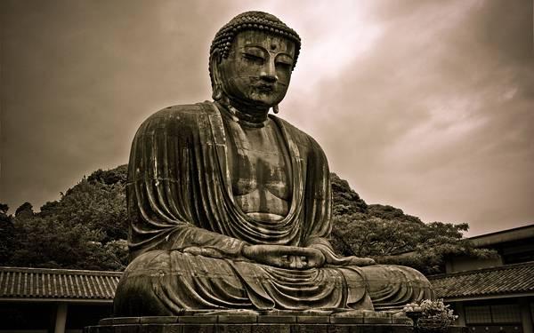 08.お寺の立派な仏像を撮影したかっこいい写真壁紙画像