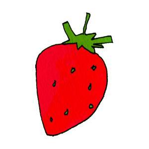 イチゴ の無料イラスト