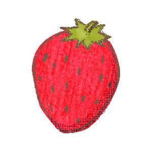 苺-01 の無料イラスト