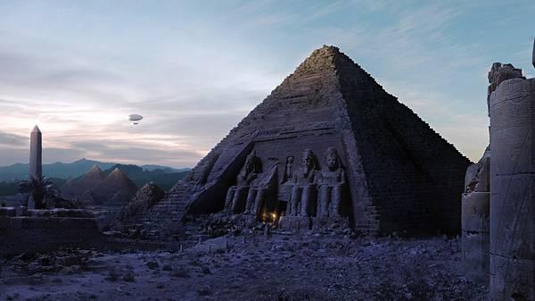 02.エジプトのピラミッドの遺跡を撮影したカッコイイ写真壁紙画像