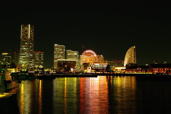 横浜の夜景(Night view of Yokohama)