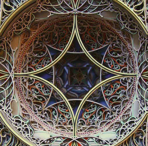 レーザーカットした紙を織り重ねた曼荼羅のようなアート作品 - 10