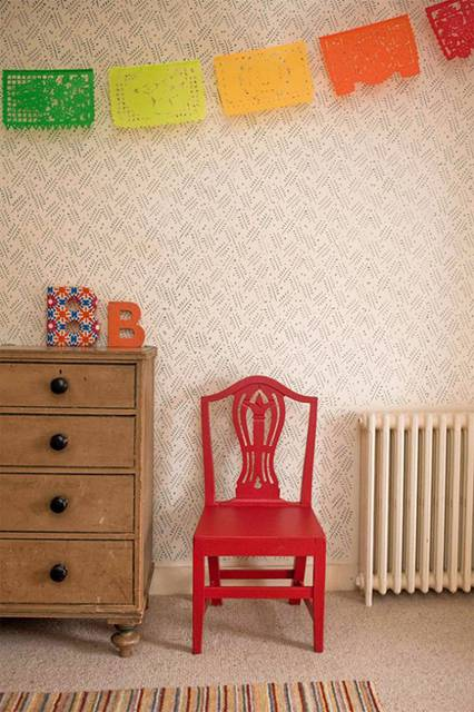 壁紙風に動物や植物のパターン柄を壁に描けるペイントローラー - 05