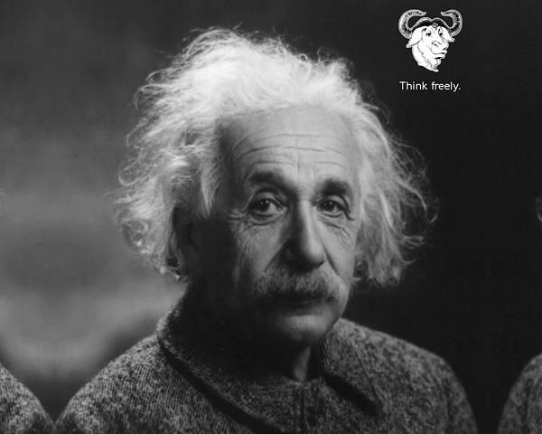 08.アインシュタインのポートレートのシンプルな写真壁紙画像
