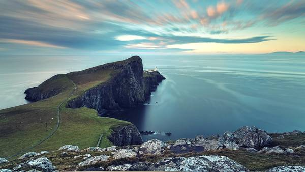 03.海を望む岬を撮影した高解像度でカッコイイ写真壁紙画像