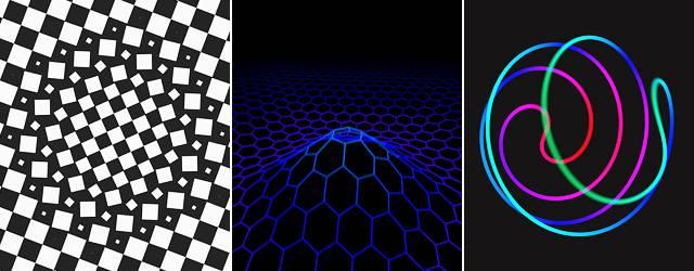 ここが美しい数学の世界への入り口か!物理学生による幾何学模様アニメーションGIF