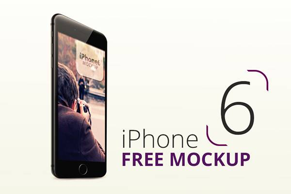 iPhone 6 (Free Mockup) - Ahmed Mu