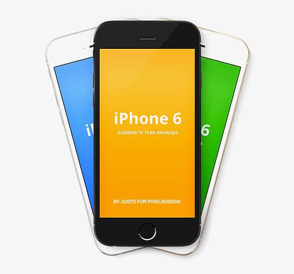 iphone6/plusのモックアップ画像まとめ
