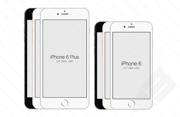 iPhone 6 - Free PSD Mockup