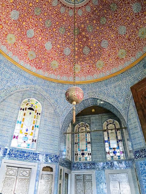 InsideTopkapı Palace, Istanbul, Turkey
