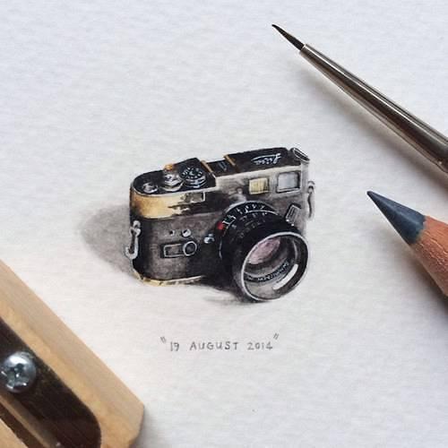 ほぼコインサイズのミニチュア絵画が可愛くて美しい! - 07