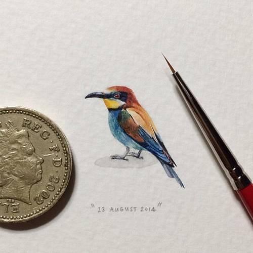 ほぼコインサイズのミニチュア絵画が可愛くて美しい! - 09