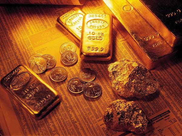 04.ゴールドバーやコインを並べて撮影美しい写真壁紙画像