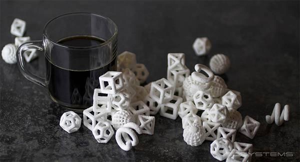 砂糖×3Dプリンター。以外な組み合わせで生まれた「食べられるアート」- 02