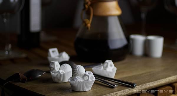 砂糖×3Dプリンター。以外な組み合わせで生まれた「食べられるアート」- 03