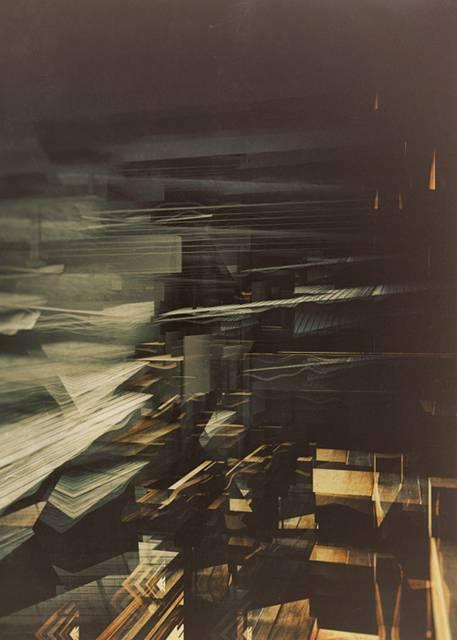 「建築」を抽象芸術に昇華させたデジタルイラストレーション - 02