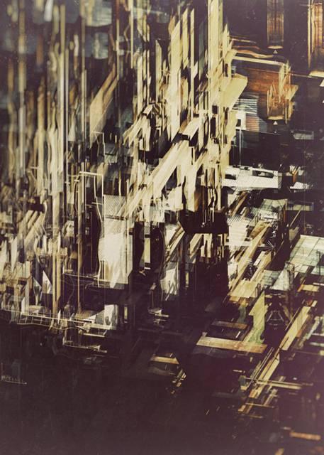「建築」を抽象芸術に昇華させたデジタルイラストレーション - 03