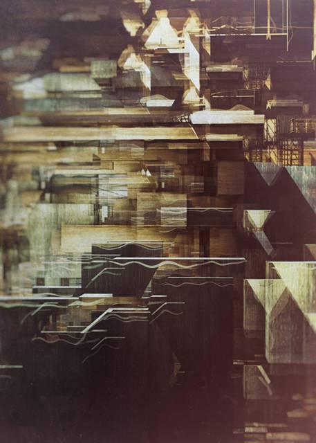「建築」を抽象芸術に昇華させたデジタルイラストレーション - 05