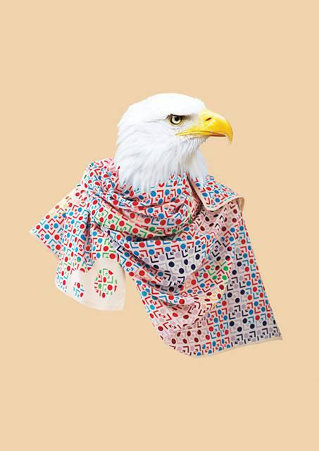 鳥にスカーフを巻かせてみたら予想以上にファッショナブル! - 08