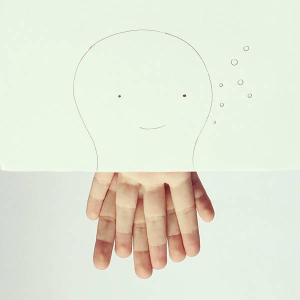 指とイラストのコラボレーション!遊び心いっぱいの楽しい動物イラスト - 02