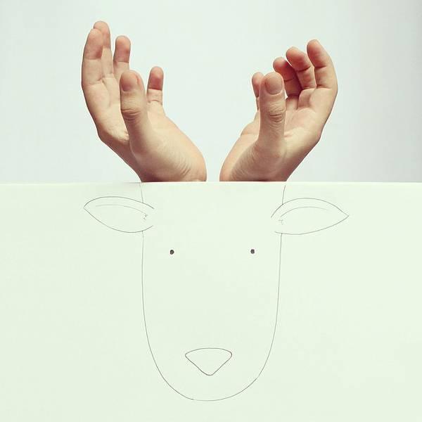 指とイラストのコラボレーション!遊び心いっぱいの楽しい動物イラスト - 03