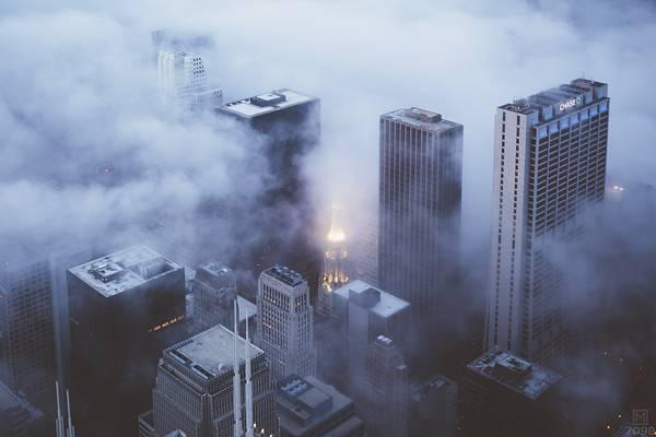 霧に包まれたシカゴの街を撮影した写真集 - 07