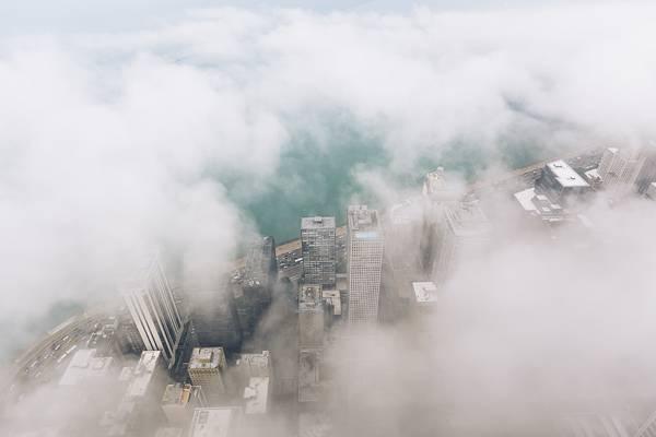 霧に包まれたシカゴの街を撮影した写真集 - 09